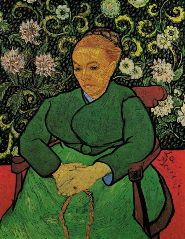 Retrato de Madame Augustine Roulin