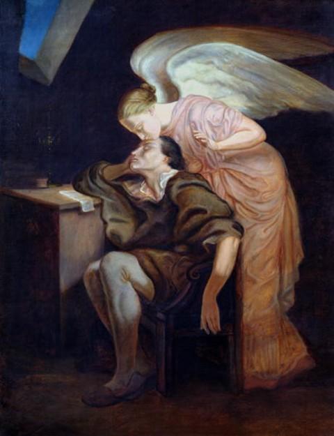 El beso de la Musa