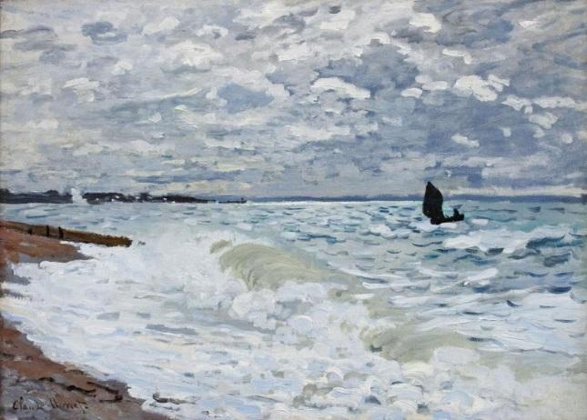 El mar en Saint-Adresse