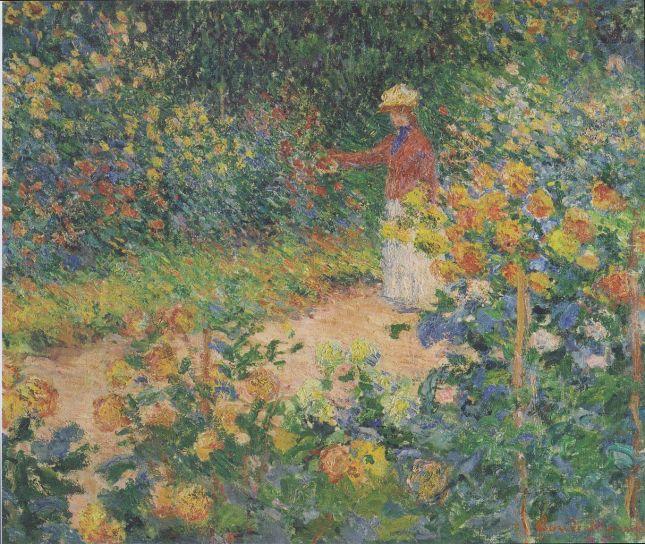En el jardín
