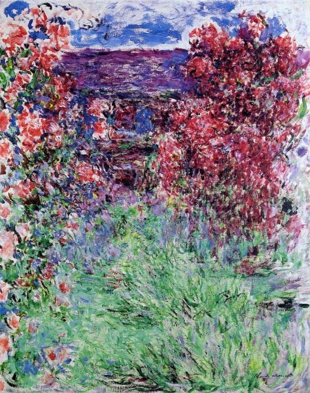 La casa entre las rosas