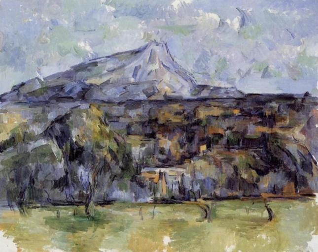 Monte Sainte-Victoire visto desde Lauves