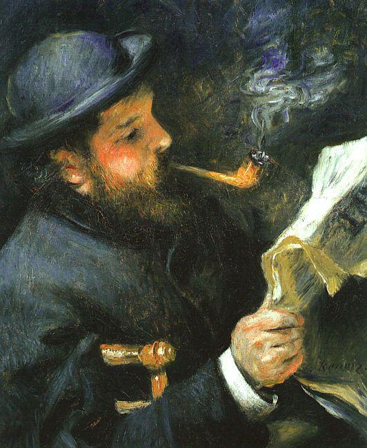 Pierre August Renoir leyendo