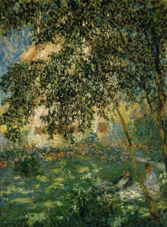 Relax en el jardín de Agenteuil