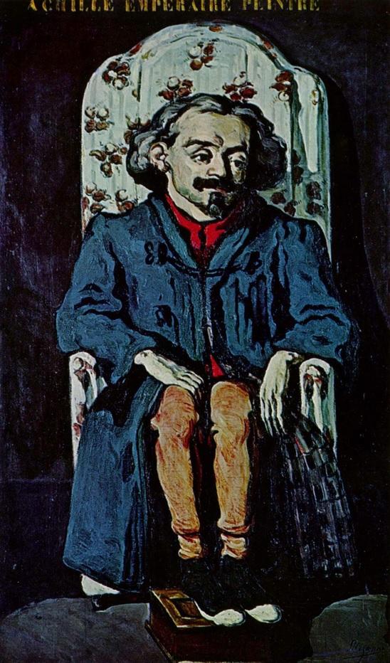 Retrato de Achille Emperaire