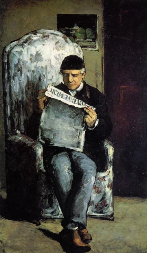 Retrato de Louis-Auguste Cézanne