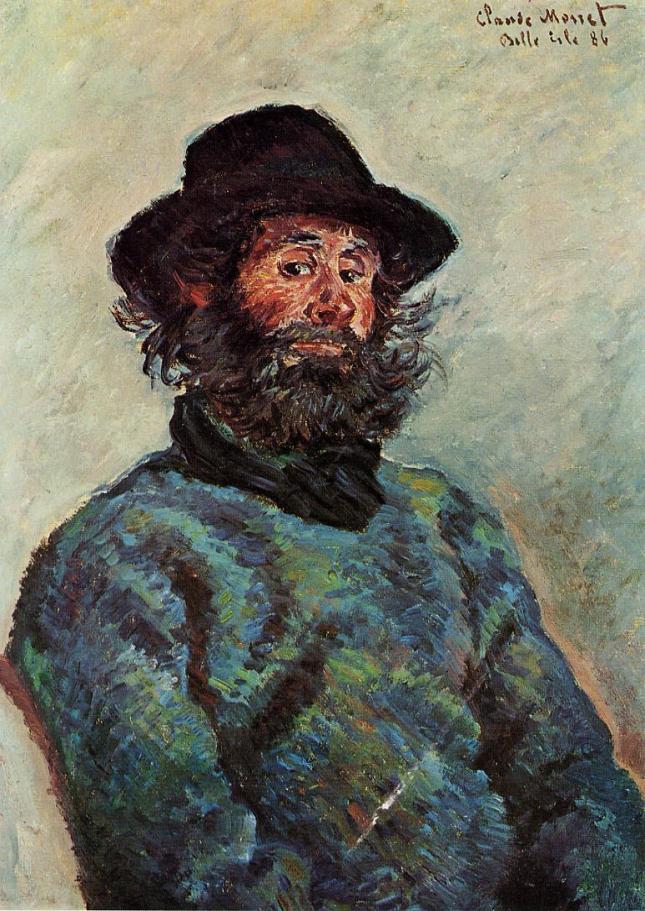 Retrato de Poly el pescador de Kervillaouen