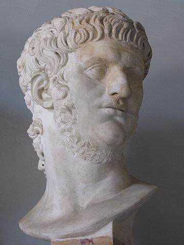 Busto de Nerón (Museos Capitolinos, Roma).