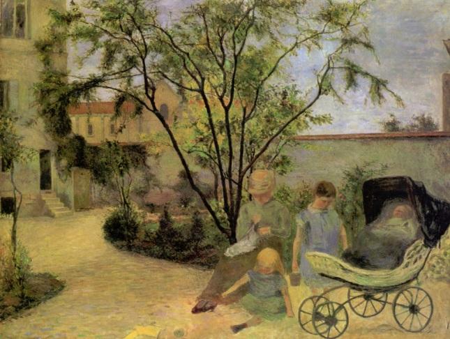 Jardín en Vaurigard