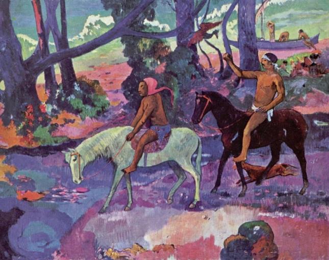 Eugène Henri Paul Gauguin La Exuberancia De Hades