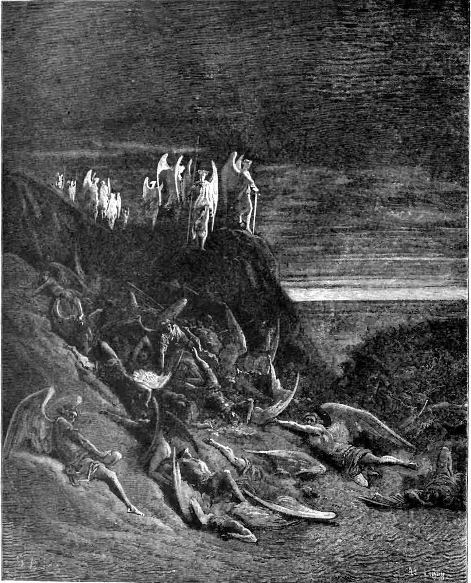 an analysis of the fallen angels and satan in paradise lost by john milton