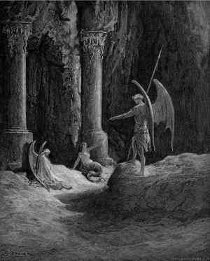 Morte e Colpa a guardia delle Porte d'Inferno