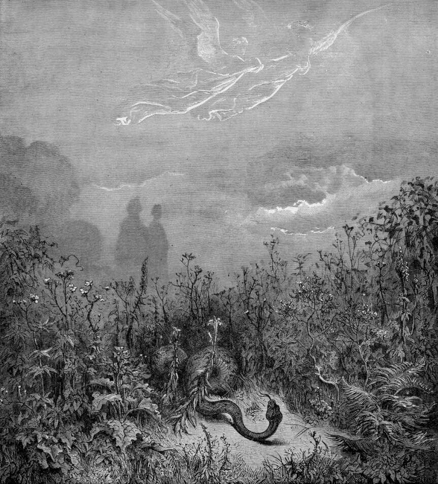 Gustave Doré (Illustrations of Divine Comedy - Purgatory -- Ilustraciones para La Divina Comedia - Purgatorio) (1/6)