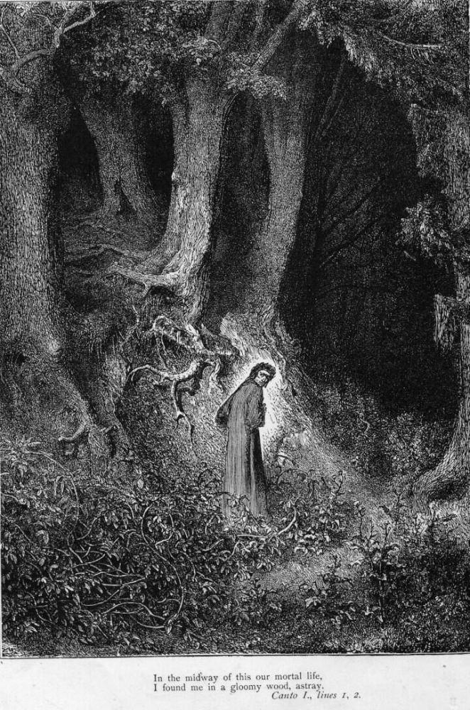 Gustave Doré (Illustrations of Divine Comedy - Hell -- Ilustraciones para La Divina Comedia - Infierno) (3/6)