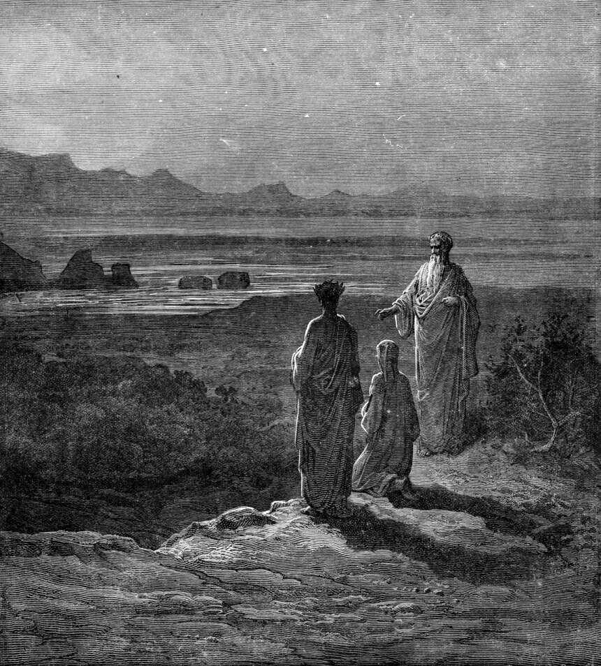 Gustave Doré (Illustrations of Divine Comedy - Purgatory -- Ilustraciones para La Divina Comedia - Purgatorio) (3/6)