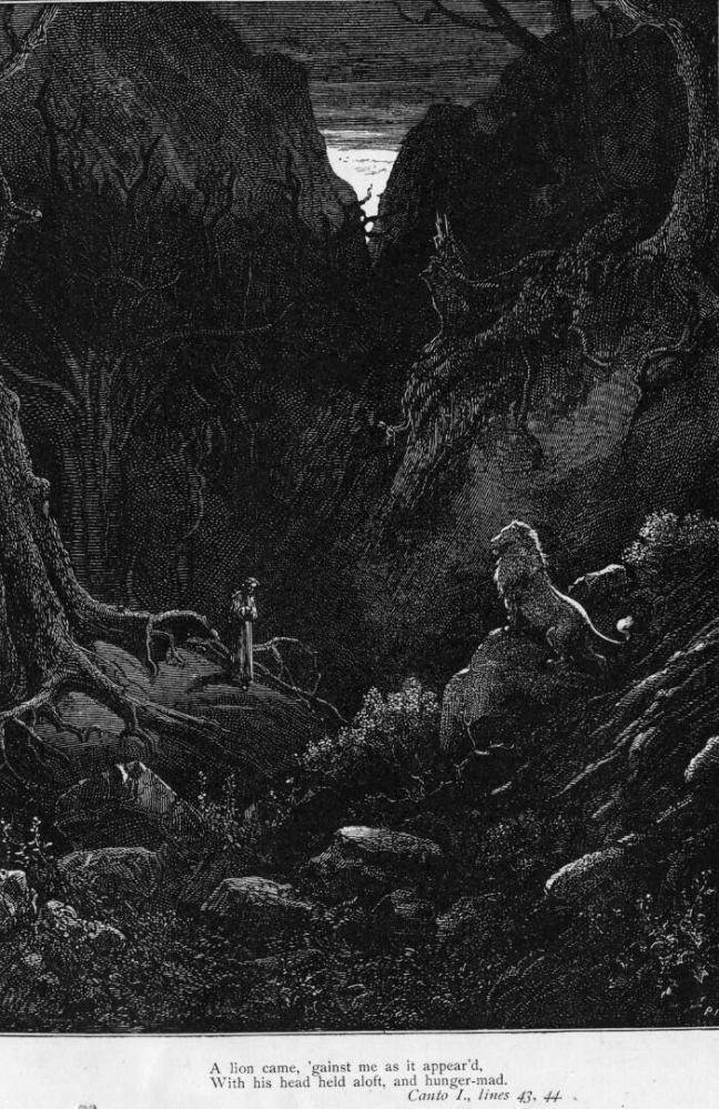 Gustave Doré (Illustrations of Divine Comedy - Hell -- Ilustraciones para La Divina Comedia - Infierno) (5/6)