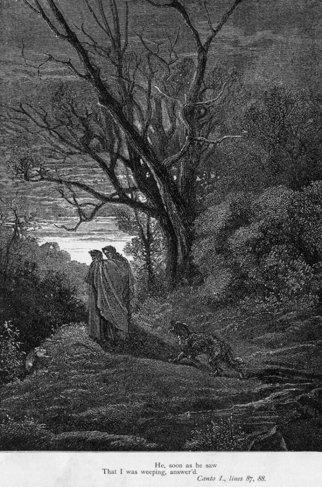 Gustave Doré (Illustrations of Divine Comedy - Hell -- Ilustraciones para La Divina Comedia - Infierno) (6/6)