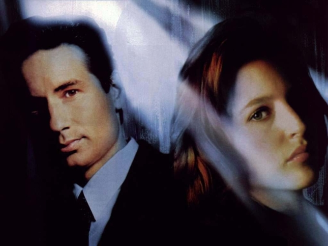 Mulder y Scully