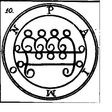 Jerarquías demoníacas 10-paimon