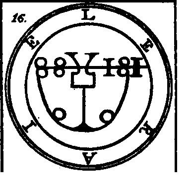 Jerarquías demoníacas 16-leraje