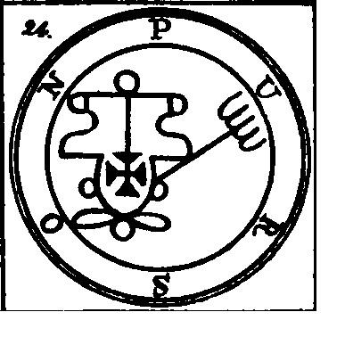 Jerarquías demoníacas 24-purson