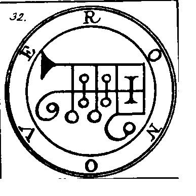 Jerarquías demoníacas 32-ronove