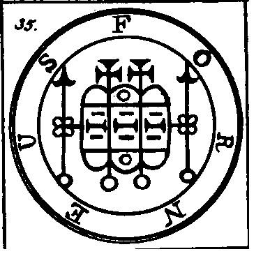 Jerarquías demoníacas 35-forneus