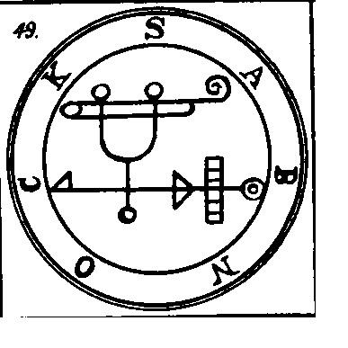 Jerarquías demoníacas 49-sabnock