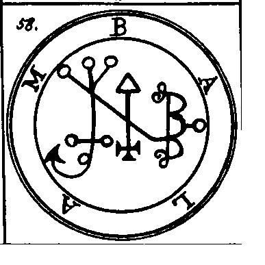 Jerarquías demoníacas 58-balam