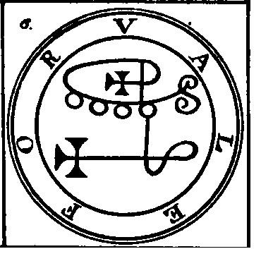 Jerarquías demoníacas 6-valefor