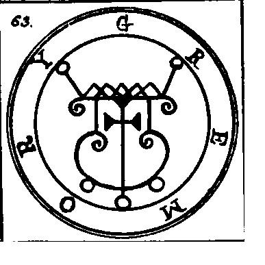Jerarquías demoníacas 63-gremory