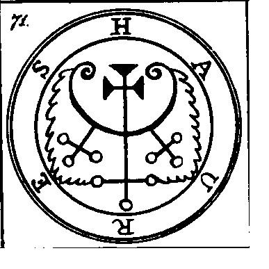 Jerarquías demoníacas 71-haures