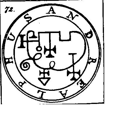 Jerarquías demoníacas 72-andrealphus