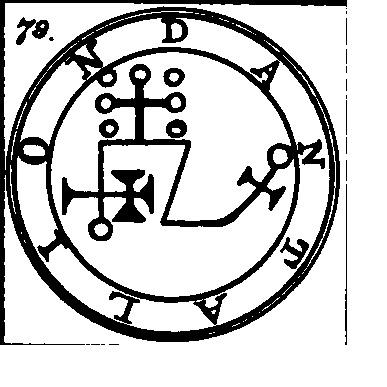 Jerarquías demoníacas 79-dantalion