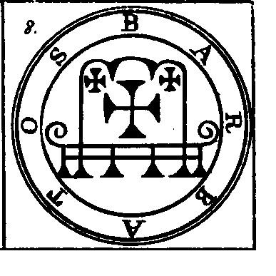Jerarquías demoníacas 8-barbatos