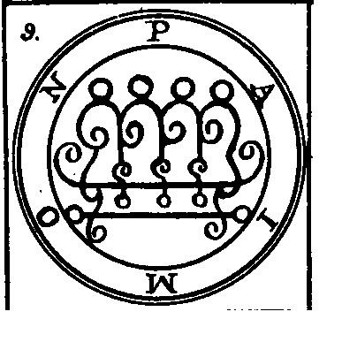 Jerarquías demoníacas 9-paimon