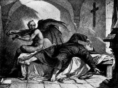Jerarquías demoníacas Demonio-y-monje