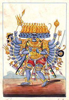 Jerarquías demoníacas Ravana
