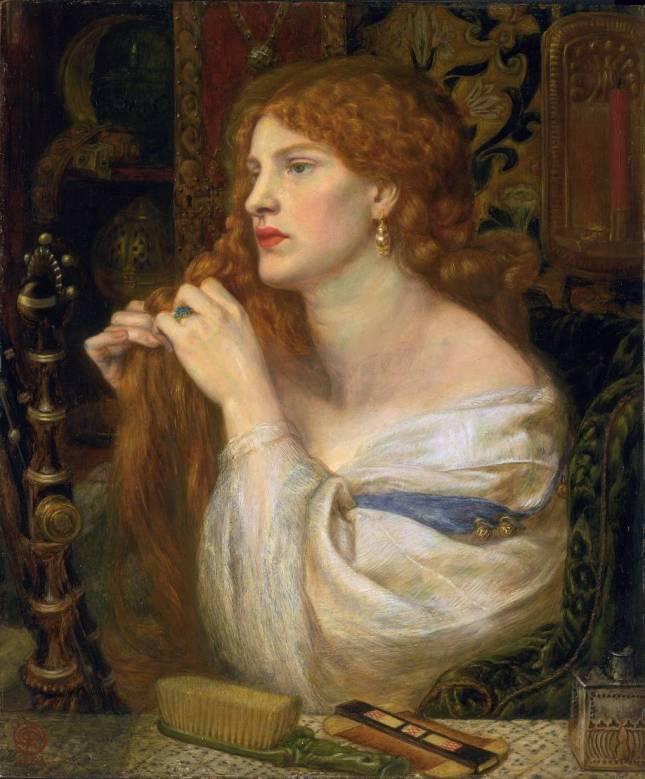 Aurelia (Fazio's Mistress) 1863-1873 by Dante Gabriel Rossetti 1828-1882