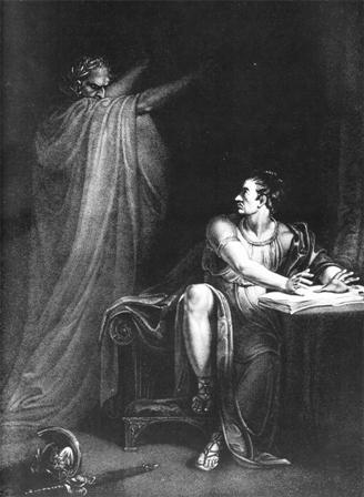 Edward Scriven - Brutus y el fantasma de César