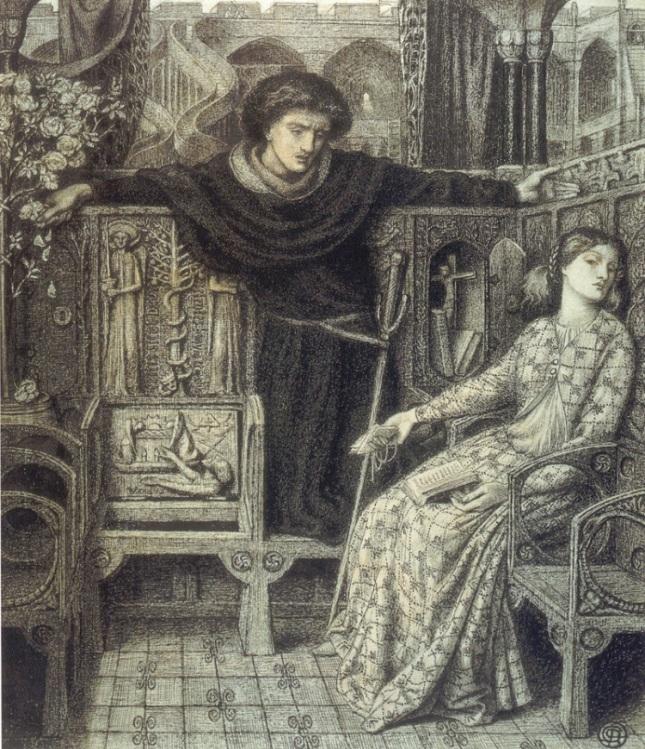 Hamlet y Ofelia