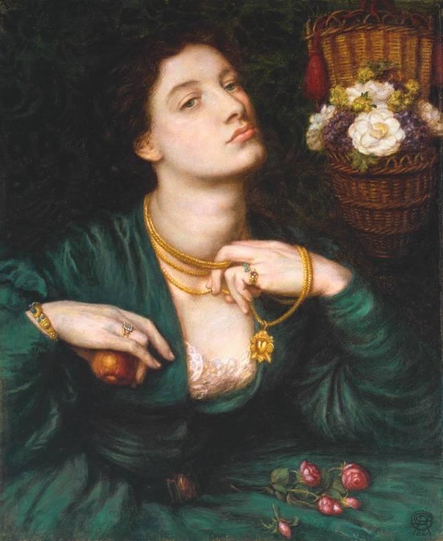 Monna Pomona 1864 by Dante Gabriel Rossetti 1828-1882