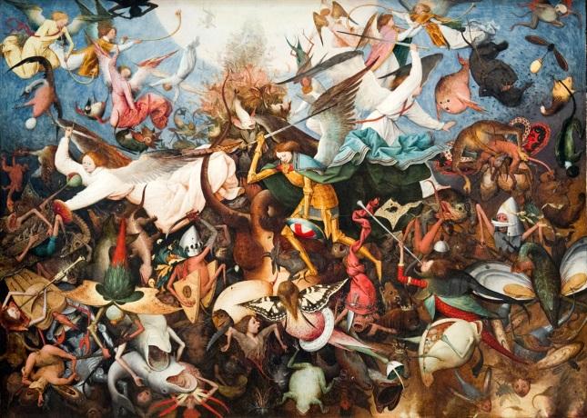 Pieter Brueghel el Viejo - La Caída de los Ángeles Rebeldes
