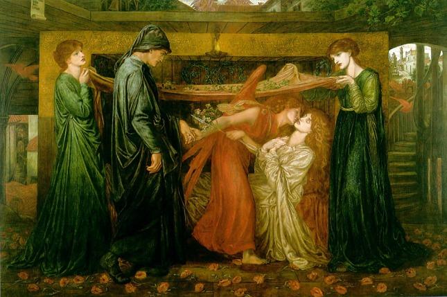 Sueño de Dante en el instante de la muerte de Beatriz
