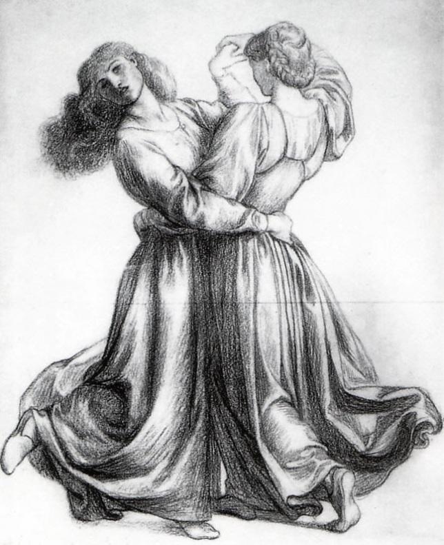 Estudio para chicas bailando
