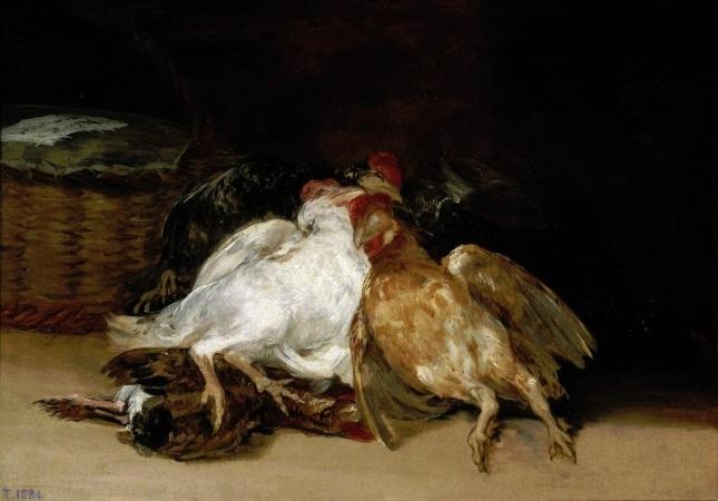 Aves muertas