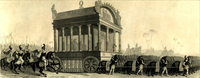 Catafalco de Alejandro Magno