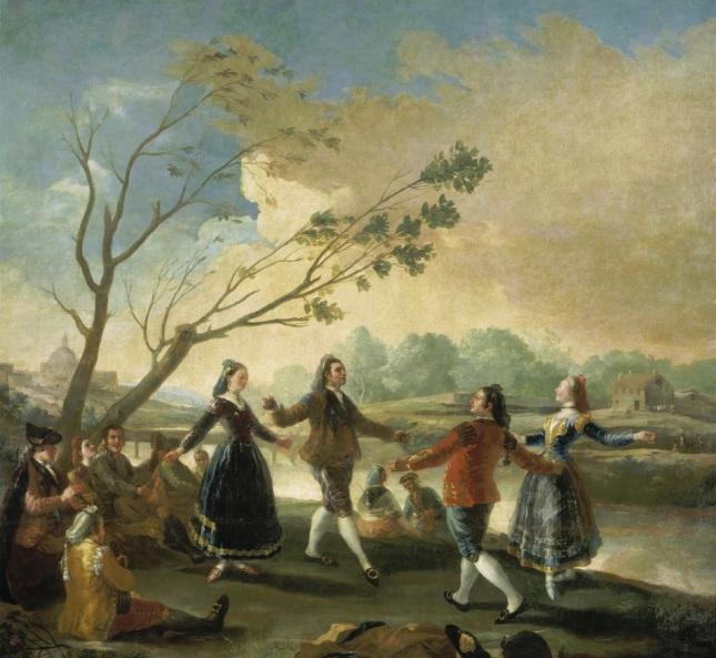 El baile a orillas del Manzanares