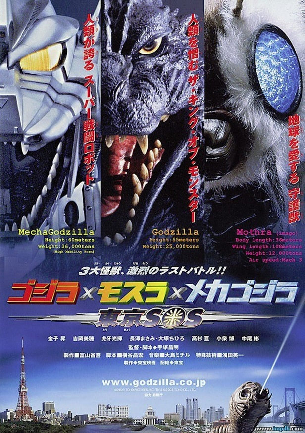Godzilla - Tokyo S.O.S. (2003)