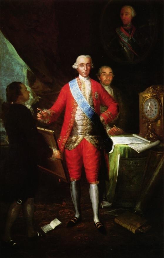 Goya y el Conde de Floridablanca